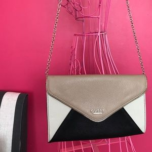 Guess: Evening Clutch with Chain Strap